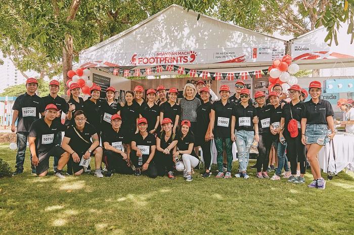 AConcept - nhà tài trợ kim cương cho Danish Footsprint 2017