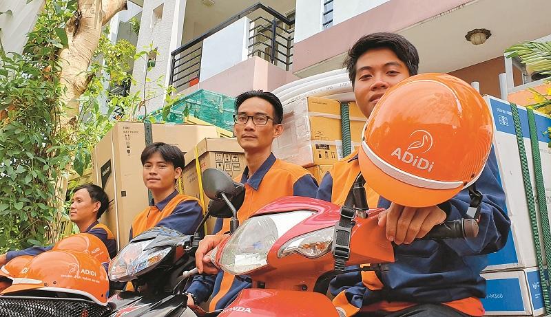 ADiDi - Dịch vụ giao hàng trọn gói đầu tiên tại thị trường Việt Nam