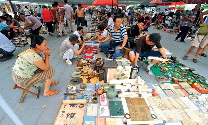 Bắc Kinh: độc đáo chợ trời Phan Gia Viên
