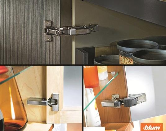 Bản lề cho tất cả thiết kế tủ nội thất mới nhất