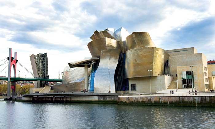 Bảo tàng Guggenheim Bilbao - Bông hoa xứ Basque
