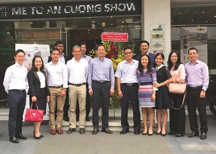 Công ty An Cường và tập đoàn Sumitomo Forestry hợp tác đầu tư chiến lược