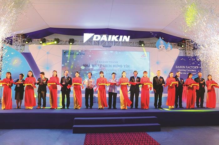 Daikin chính thức khánh thành nhà máy sản xuất điều hòa không khí tại Việt Nam