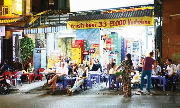 Đêm ở phố Tây Sài Gòn