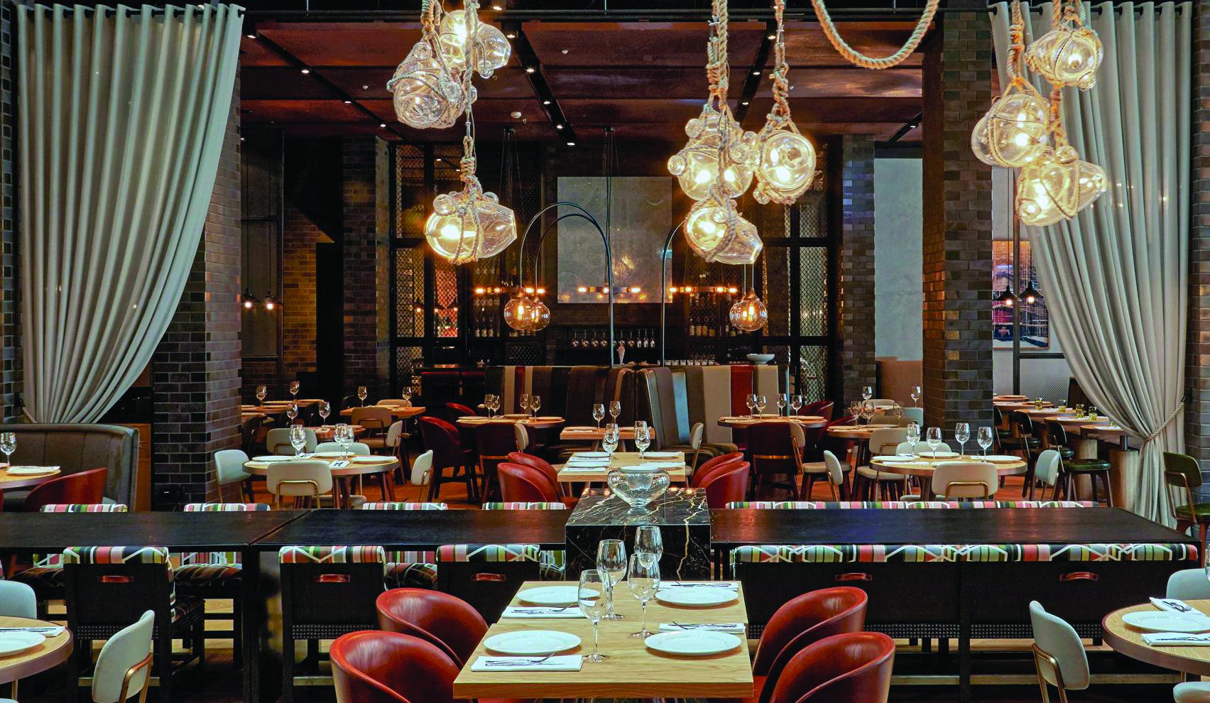 DeSallesFlint tạo ra các nội thất theo chủ đề hàng hải cho khách sạn Puro Gdansk