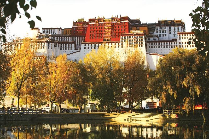 Điện Potala - Tây Tạng