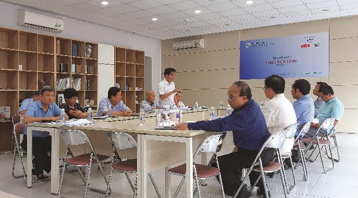 Hội Kiến trúc sư thành phố Hồ Chí Minh tổ chức góp ý Luật Kiến trúc