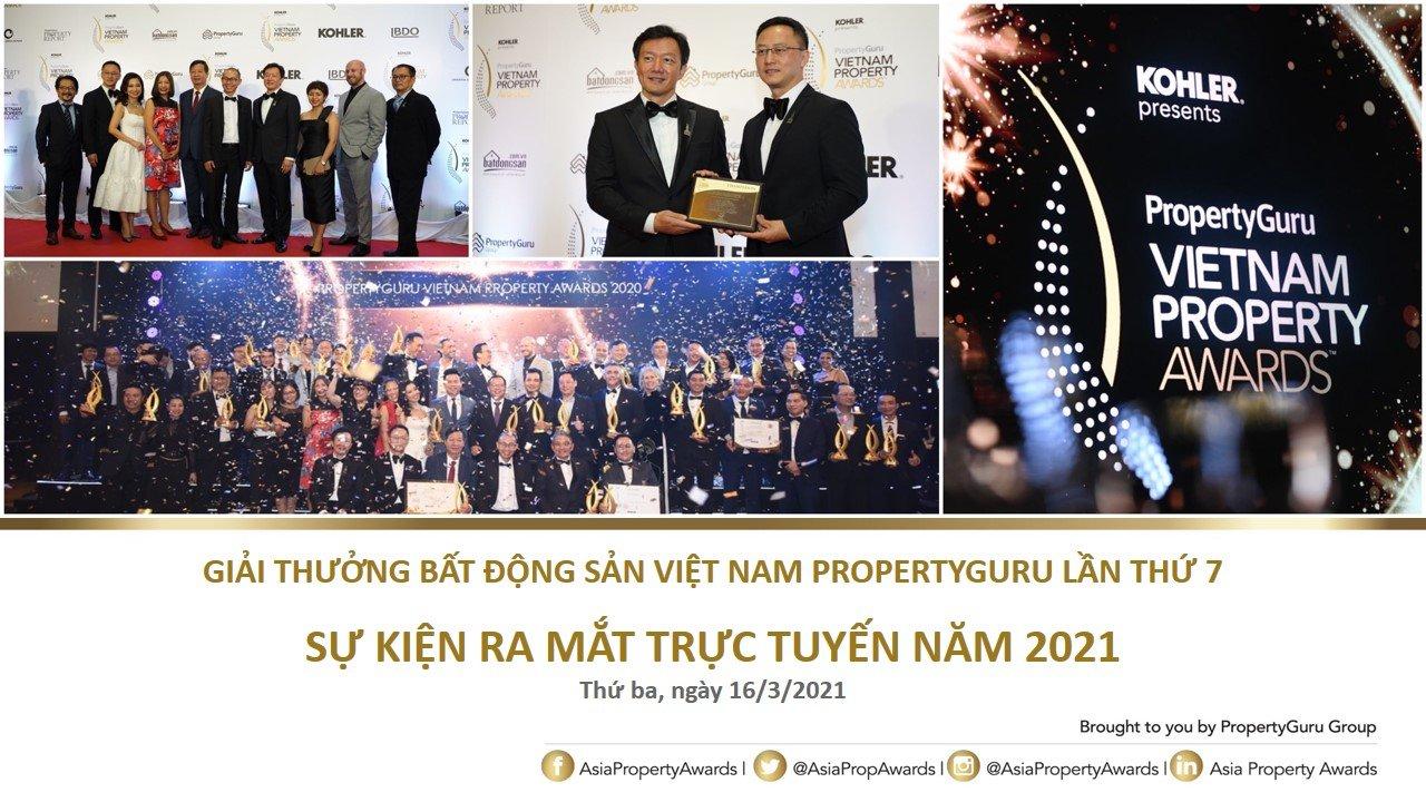 Khởi động giải thưởng BĐS Việt Nam PropertyGuru lần thứ 7