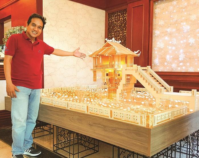 KTS Hoàng Tuấn Long: Cuộc chơi kỳ thú với những cây tăm giang
