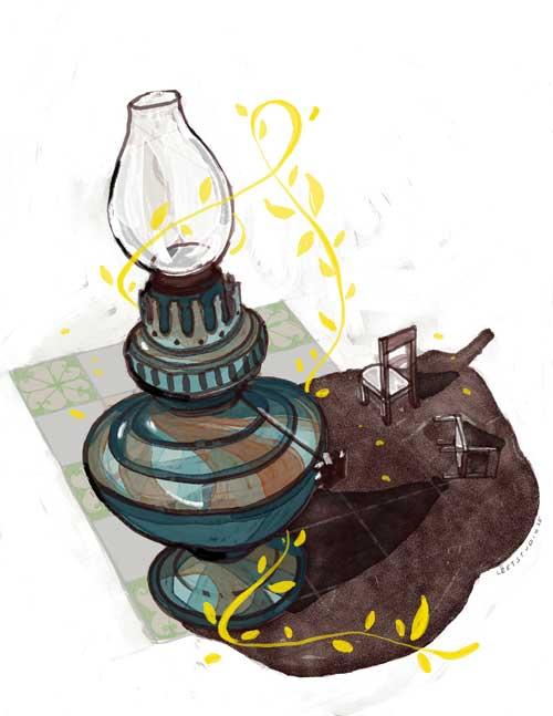 Ký ức đèn dầu