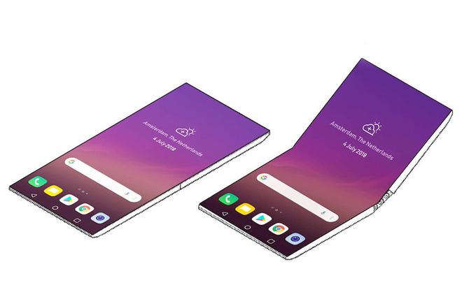 LG đang phát triển smartphone màn hình gập