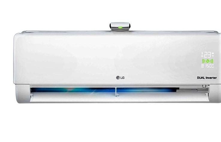 Máy lạnh LG tự động đo mức độ ô nhiễm không khí trong phòng