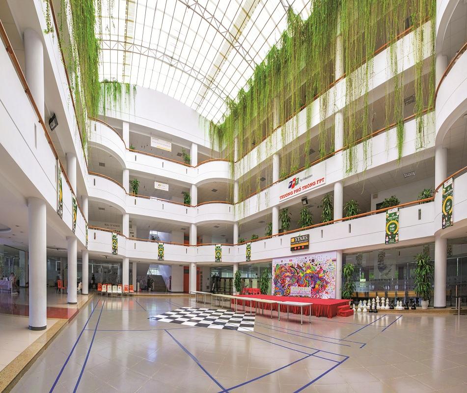 Môi trường xanh ở đại học FPT