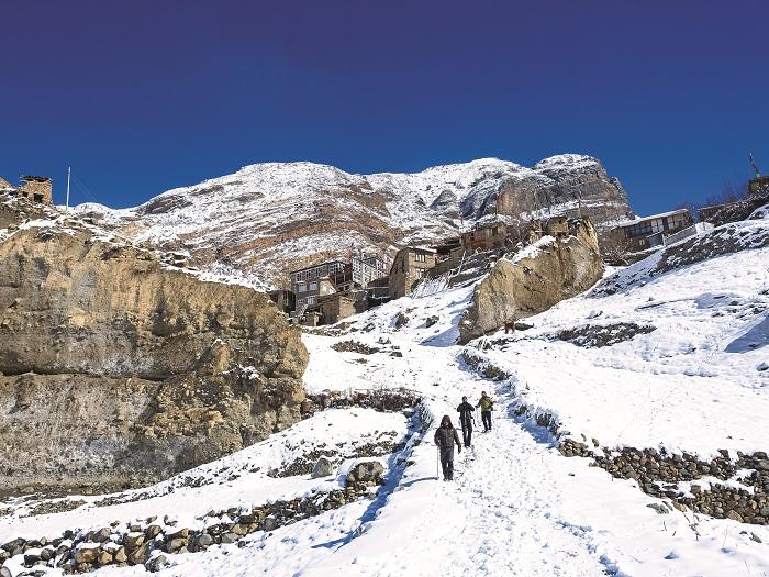 Nepal - Con đường tuyết