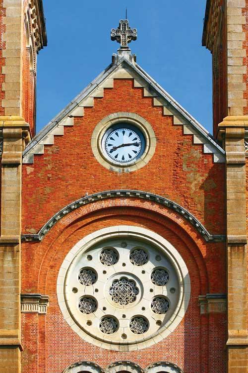 Nhà thờ Đức Bà tuyệt tác kiến trúc đô thị Sài Gòn