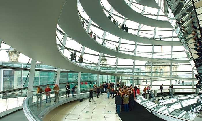 Reichstag - toà nhà lịch sử