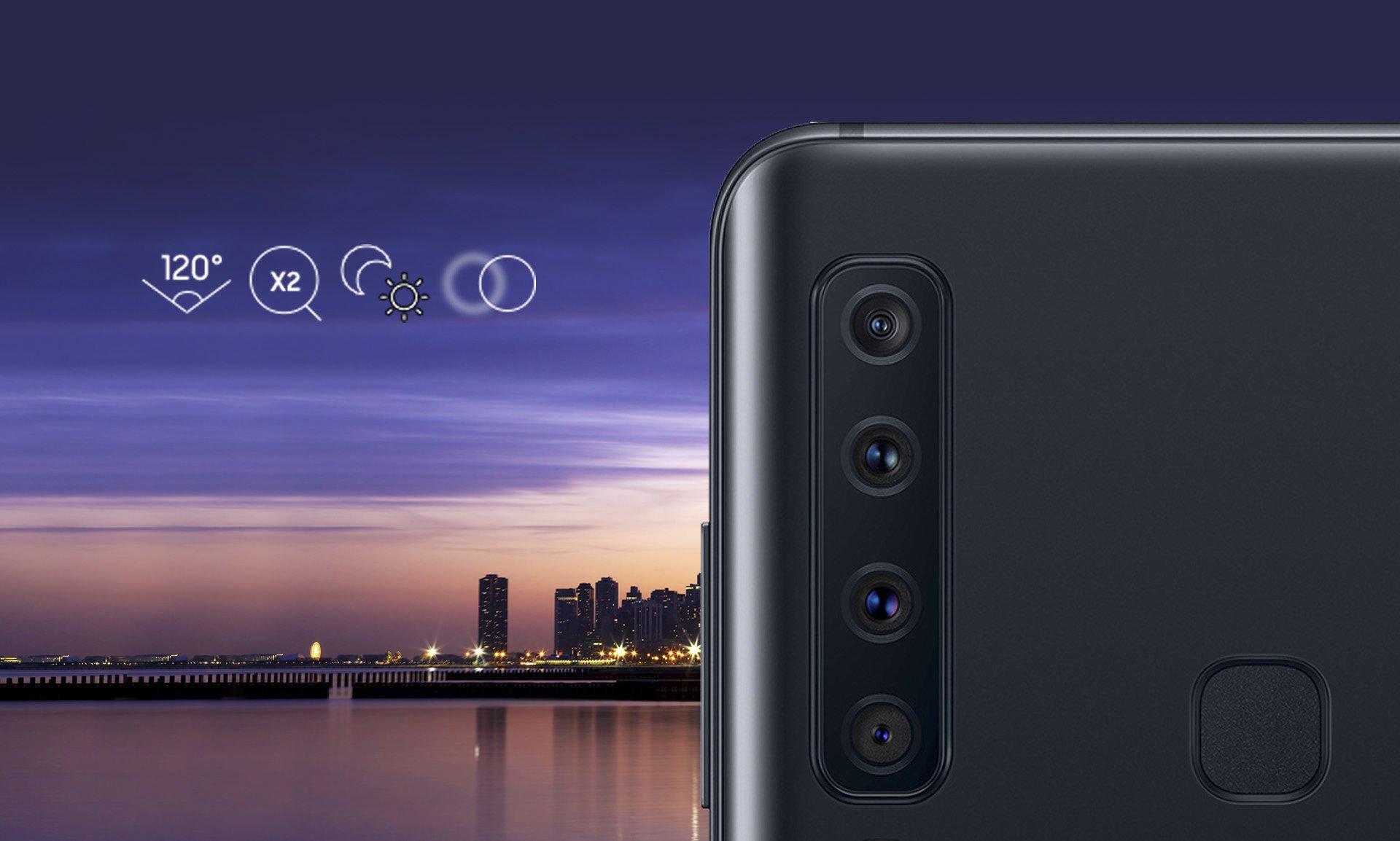 Samsung A9 trình làng về cụm 4 camera sau đầu tiên trên thế giới