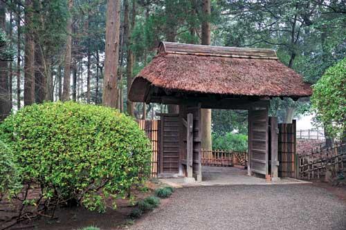 Thăm nếp nhà xưa ở Ibaraki