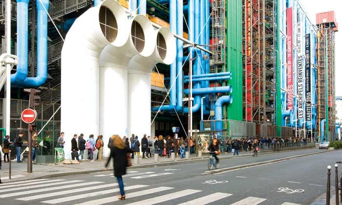 Thăm toà nhà trung tâm Pompidou