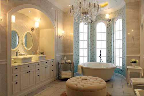 Thư giãn với phòng tắm