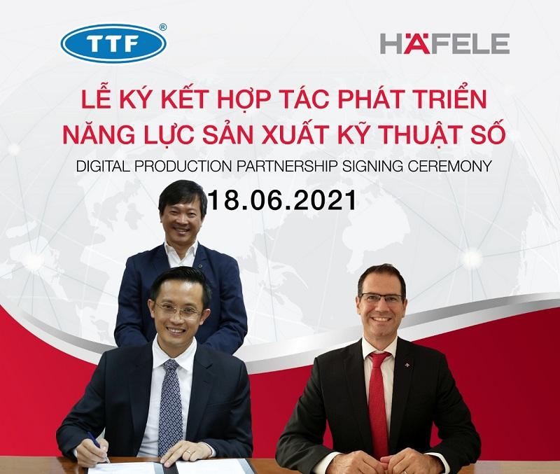 TTF tiếp quản Trung tâm Năng lực số Häfele