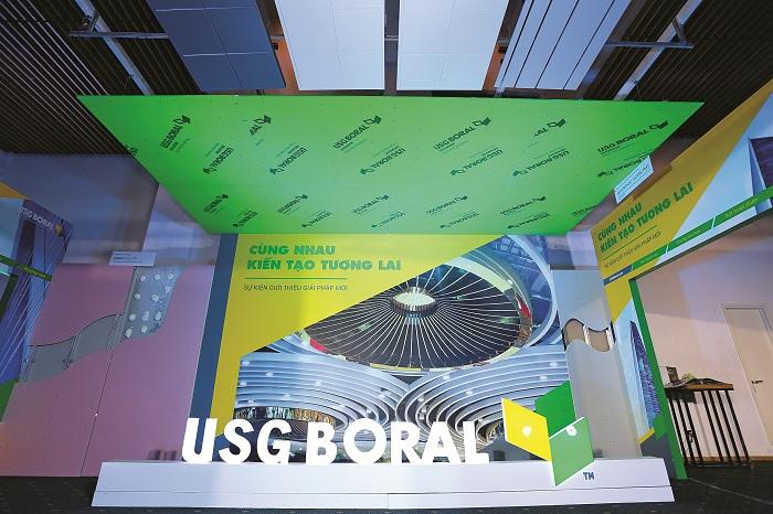 USG Boral Việt Nam ra mắt các giải pháp vật liệu nhẹ